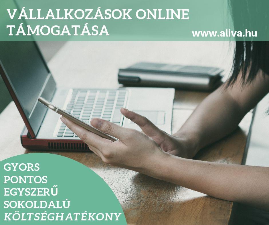 Vállalkozások online támogatása