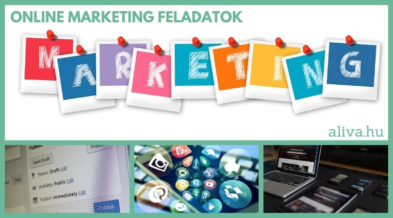 aliva - online marketing feladatok